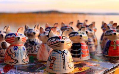 Olga Blokhin töitä arvostettuun kansainväliseen keramiikkanäyttelyyn
